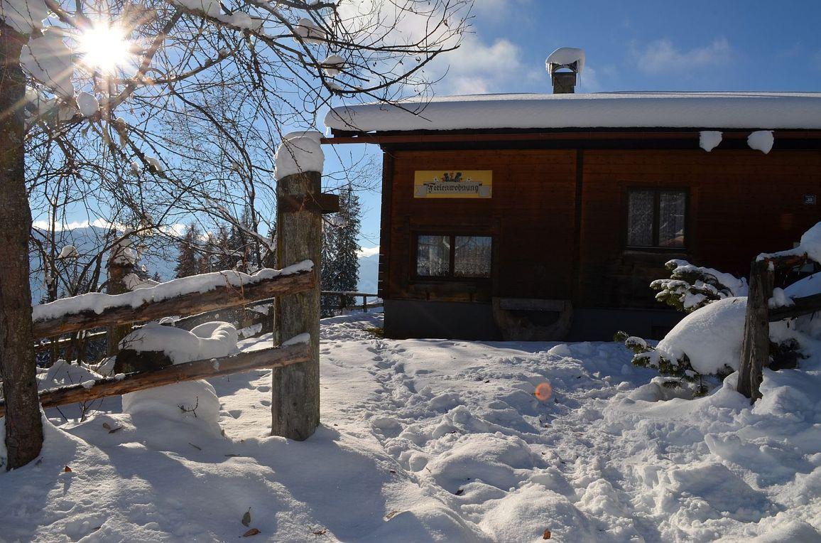 Ferienhaus Kammerer, Winter
