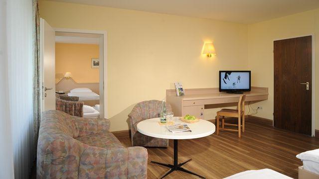 2-Raum-Appartement Haus 3, ca. 70 qm