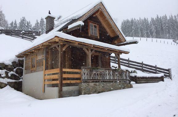 Winter, Oberprenner Troadkostn, Haus im Ennstal, Steiermark, Styria , Austria