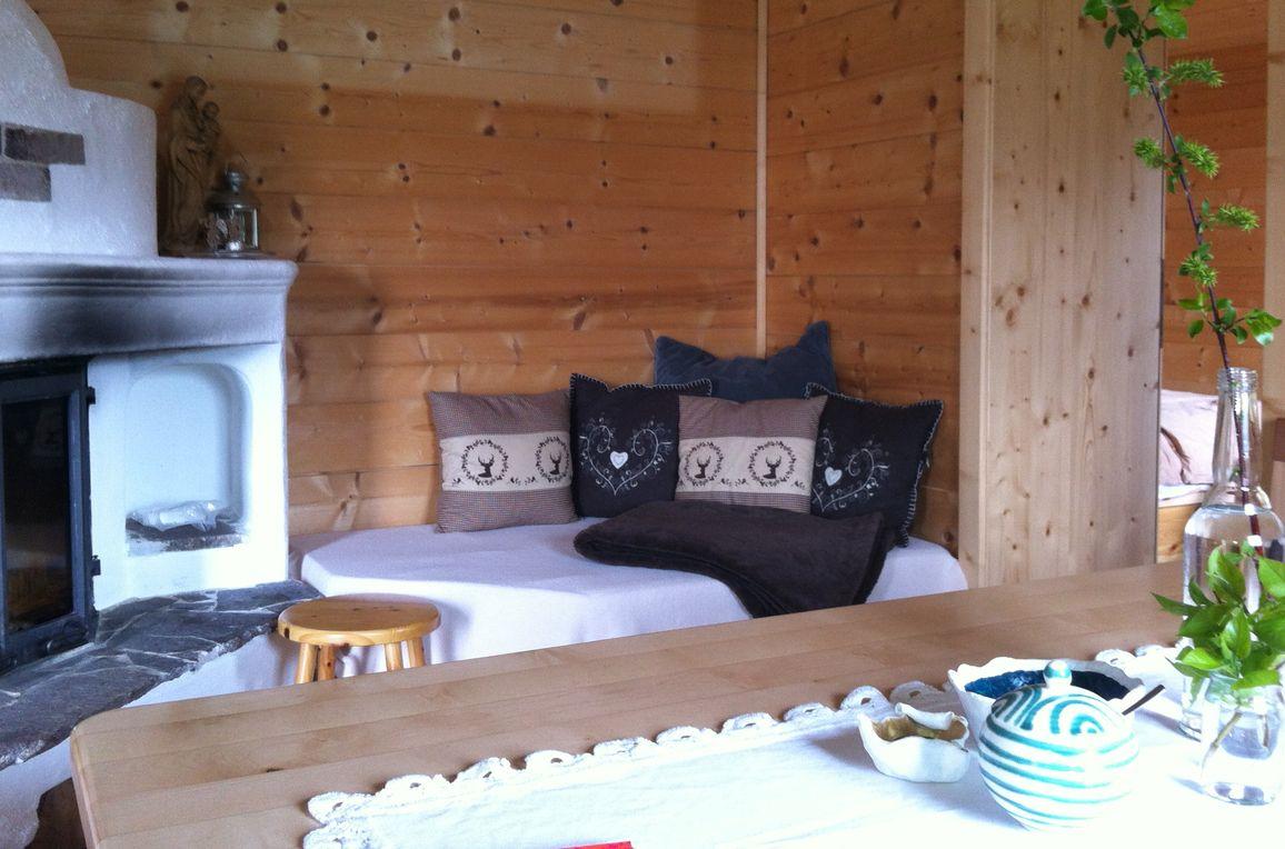 Reitlehen Hütte, Living room