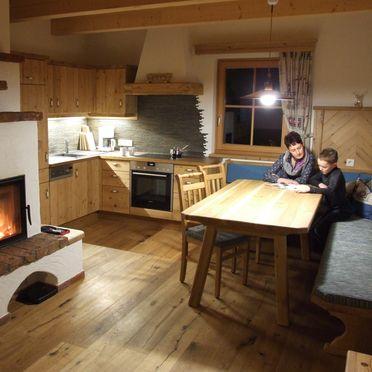Holzknechthütte, Küche
