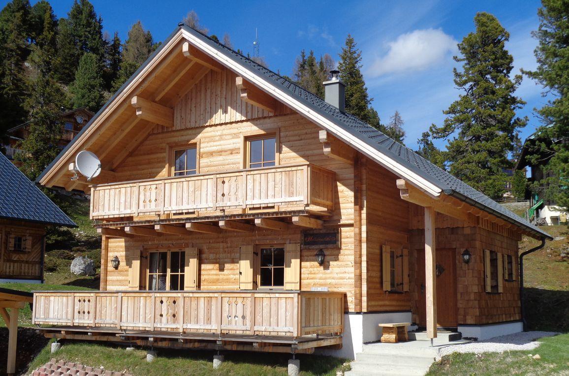 Holzknechthütte, Sommer