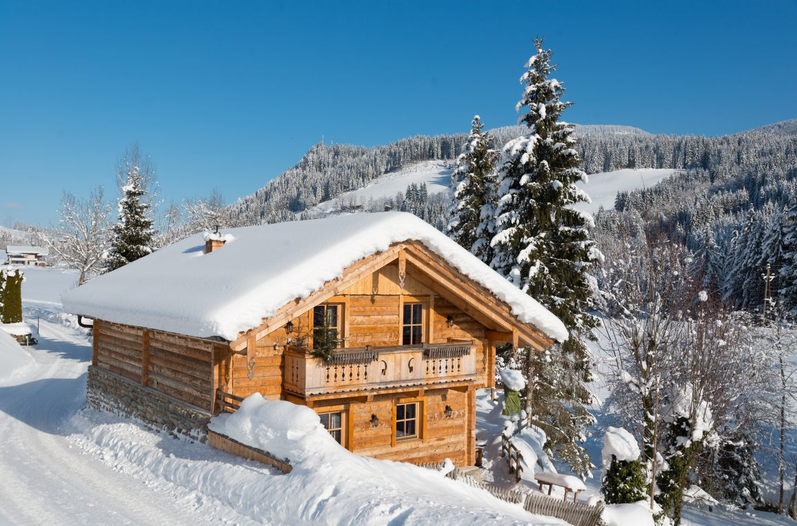 Chalet Steinbock, Winter