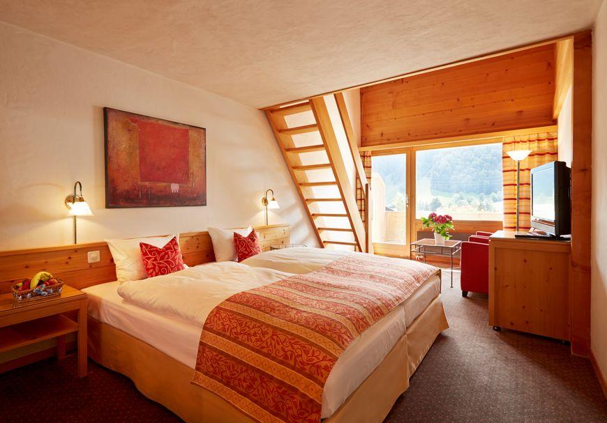 Chambre duplex sud avec balcon