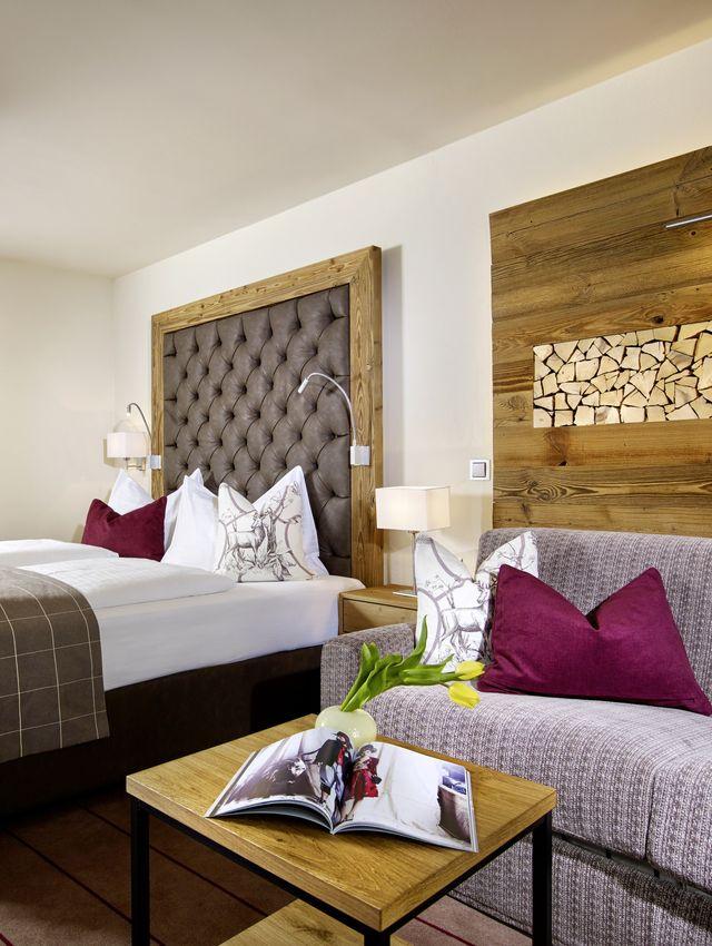 Doppelzimmer Deluxe Tyrol