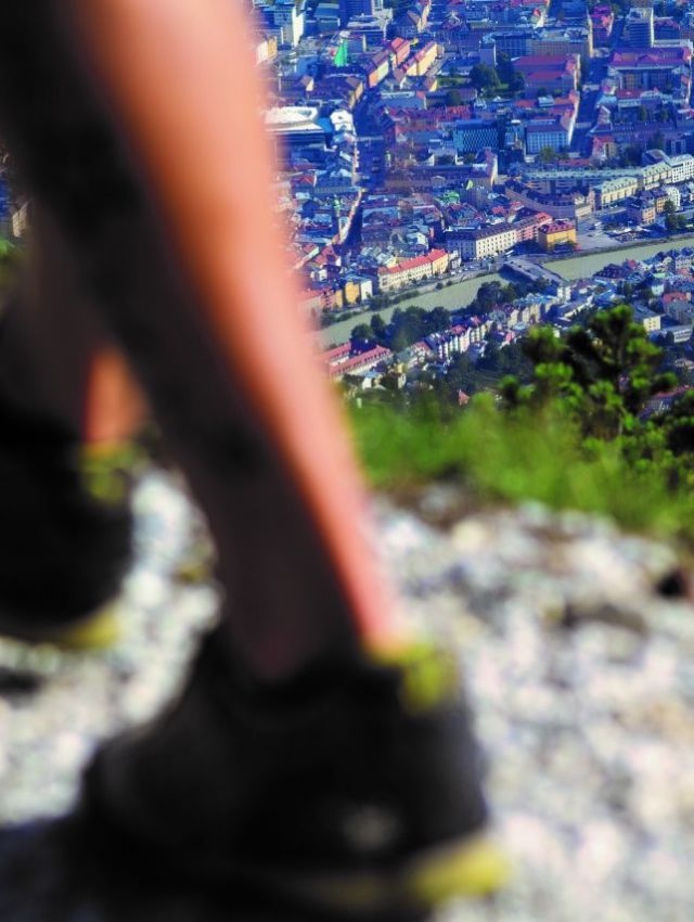 City & Hiking = Innsbruck