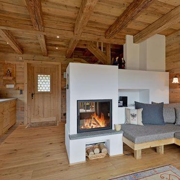 Wohnraum, Bergchalet Klausner Die Hütte, Ramsau im Zillertal, Tirol, Tirol, Österreich