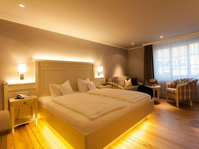 Romantik Doppelzimmer - Komfort, Leichtigkeit des Seins