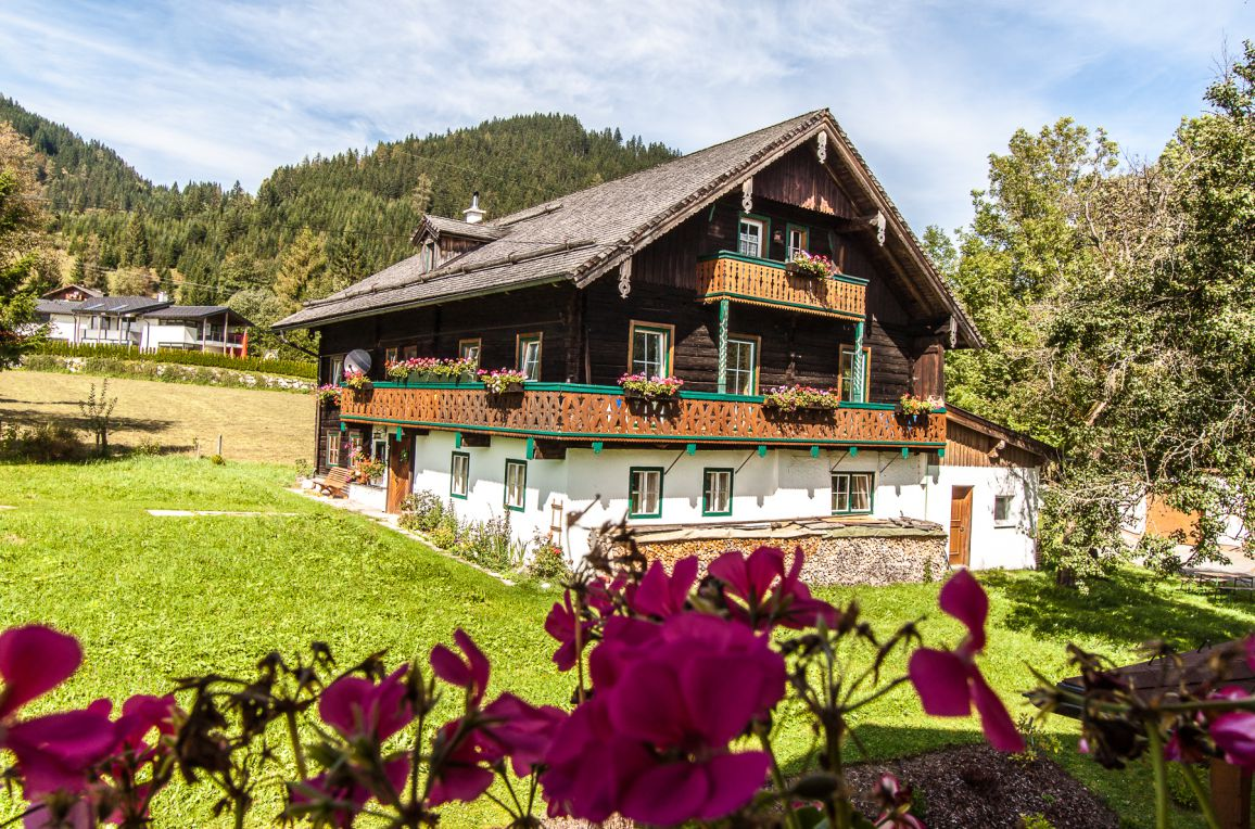 Bauernhaus Lammertal, Sommer