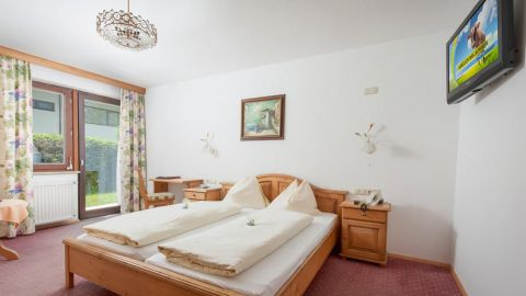 Doppelzimmer Amselnest im Hotel Central