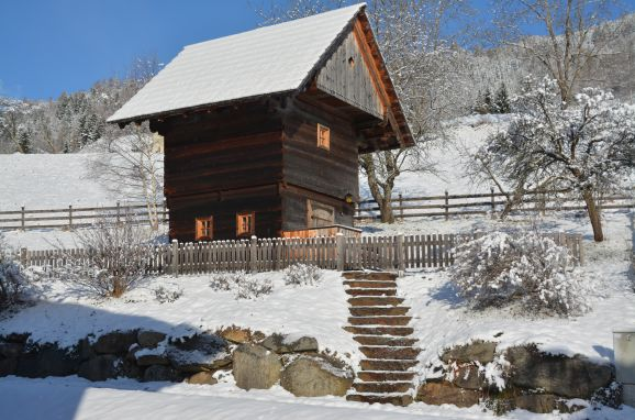 Winter, Kreischberg Troadkasten in Stadl, Steiermark, Steiermark, Österreich