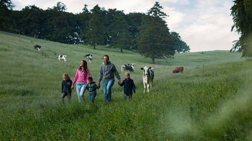 Die vielseitigen Landschaften eignen sich bestens für Familienausflüge.