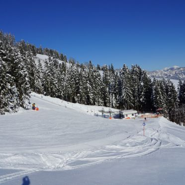 Skipiste, Chalet Alpenblick in Kitzbühel, Tirol, Tirol, Österreich