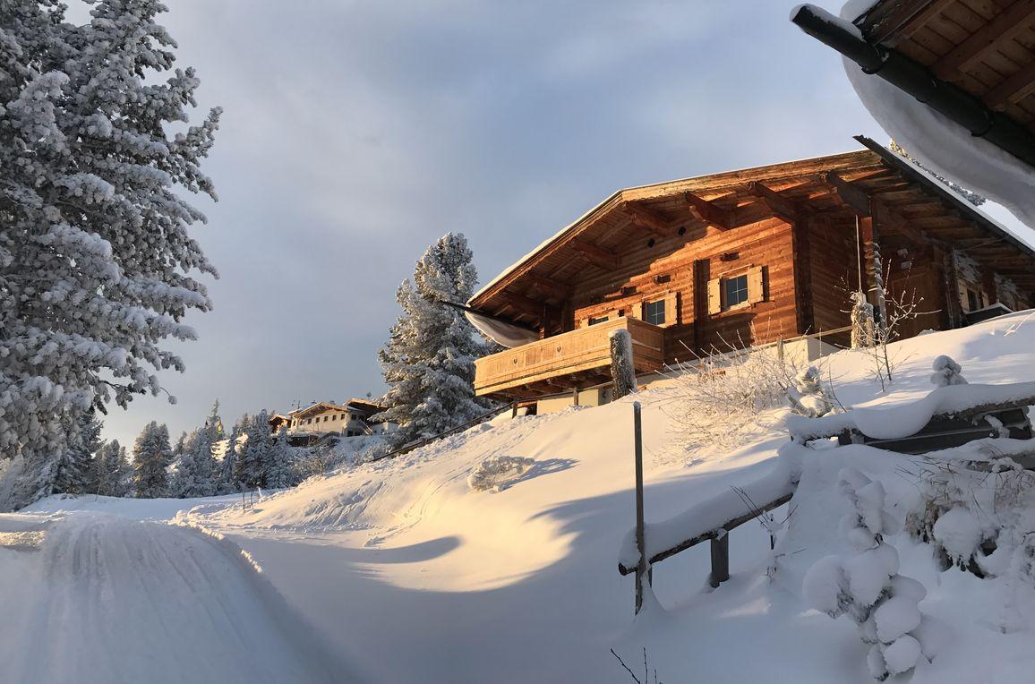 Chalet Hochzillertal, Winter