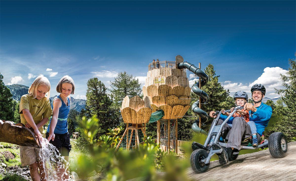 Wandern, Wasserspaß und Downhill Action Kurzaufenthalt in den Family-Sparwochen