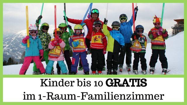 Genusswochen - Kinder bis 10 Jahren GRATIS und 6-Tages-Skipass