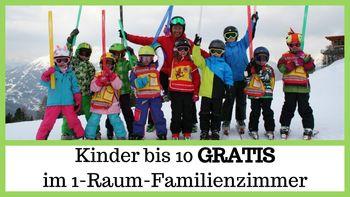 Ein Hochgenuss mit 6 Übernachtungen - Kinder unter 10 Jahren GRATIS und 5 Tages-Skipass