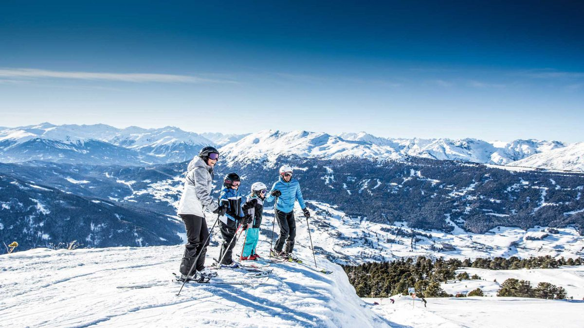 Faschingsferien 2019 am Dach Tirols inkl. 6-Tages-Skikurs
