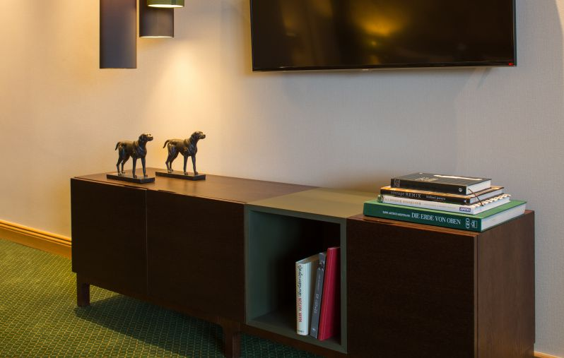Doppelzimmer Deluxe mit Meerblick (Gästehaus)