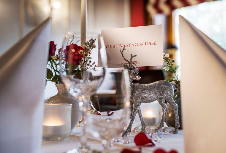 Romantik Hotel Jagdhaus Eiden am See: Geburtstags-Päckchen