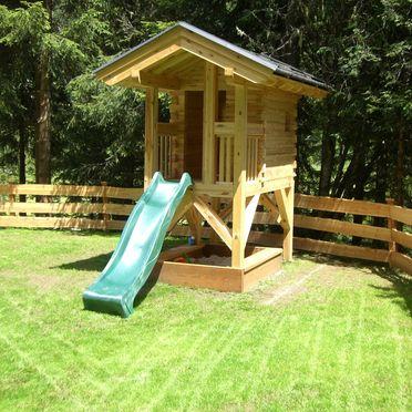 Fleissner Hütte, Garten Spielplatz