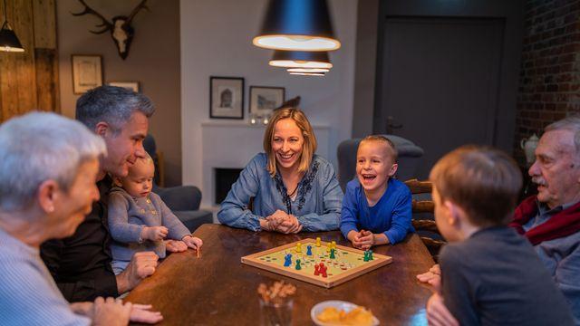 Gemütliche Familienzeit