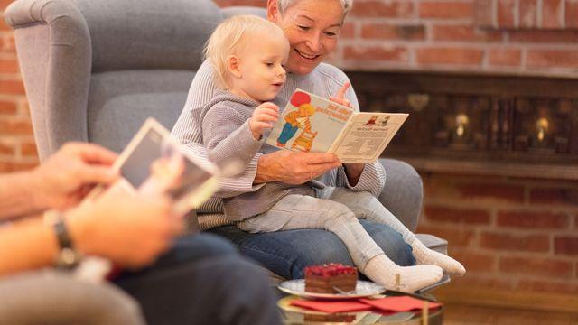 Gemütliche Zeit mit den Großeltern