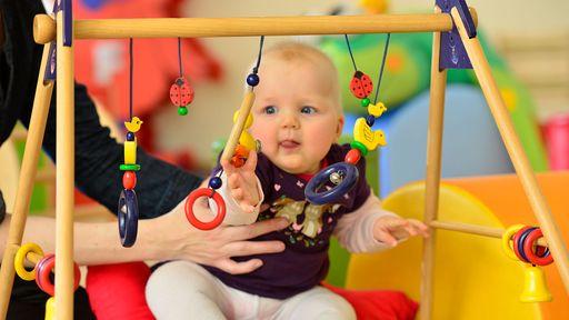 Babybetreuung im Familotel Ebbinghof