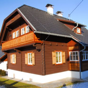 Ferienhaus Almenblick, Frühling