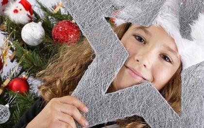 Weihnachtsferien mit Besuch vom Christkind