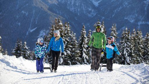 """2 zertifizierte Skischulen mit der Auszeichnung """"kinderfreundlich"""""""