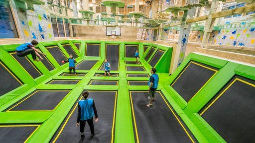 Diese Indoor-Sporthalle im Familotel Feldberger Hof bietet Spaß, Action und Fun der Extraklasse ohne Zeitlimit.