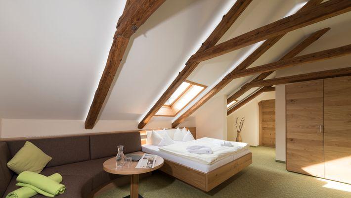 """Hotel Zimmer: Family-Suite Schreinerhof """"Studio"""" - Schreinerhof in Schönberg"""
