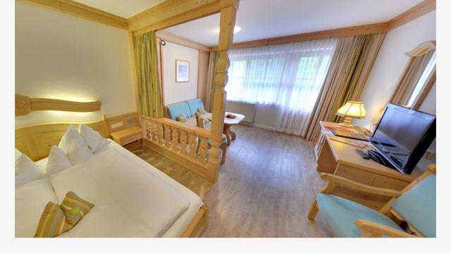 Familienzimmer | 34 qm - 1-Raum