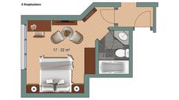 Double room Rimpfischhorn