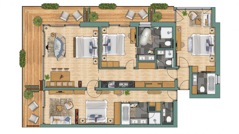 "apartements Appartement ""Matterhorn"" Confort"