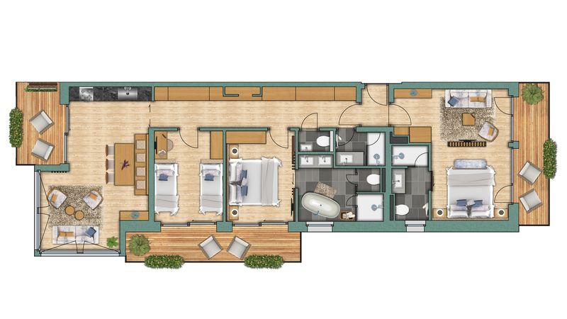 "apartments Apartment ""Platthorn"" View"