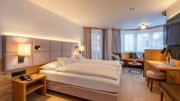 "chambres doubles Chambre avec Baie Vitrée ""Fletschhorn"" - 3 3/6"