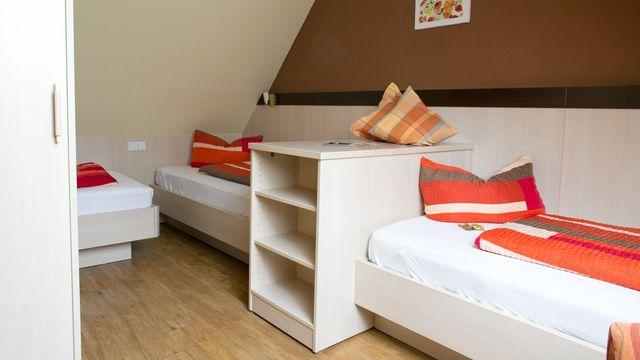 Dreibettzimmer | 20 qm - 1-Raum