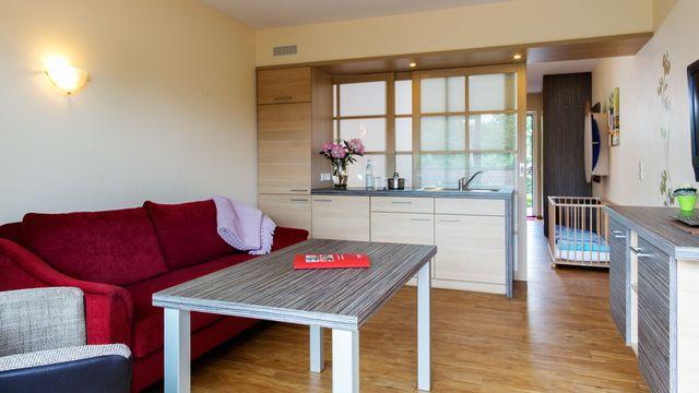Familienappartement | 35 qm - 2-Raum
