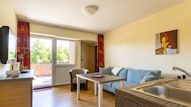 Familienappartement | 55 qm - 2-Raum