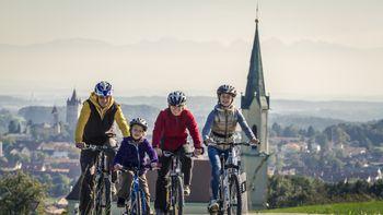 Mit dem Fahrrad durchs oberbayerische Land!