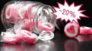 -20 % 🍬 Raspl-Bonbon 🍬 -20 % | 21.02.-02.03.2020