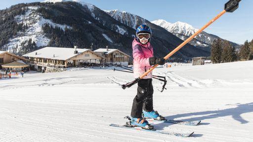 Die Pisten sind ausgezeichnet präpariert und garantieren pure Wintersportfreude.