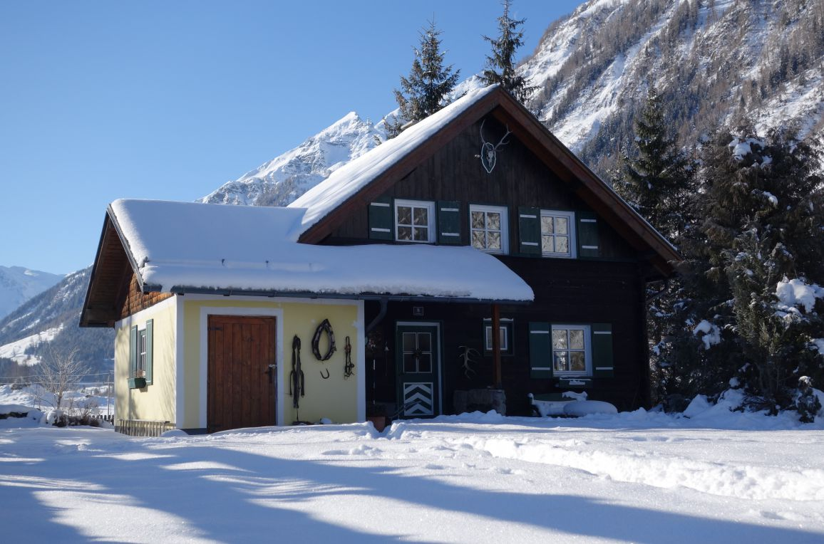 Jagdhütte Hohe Tauern, Winter