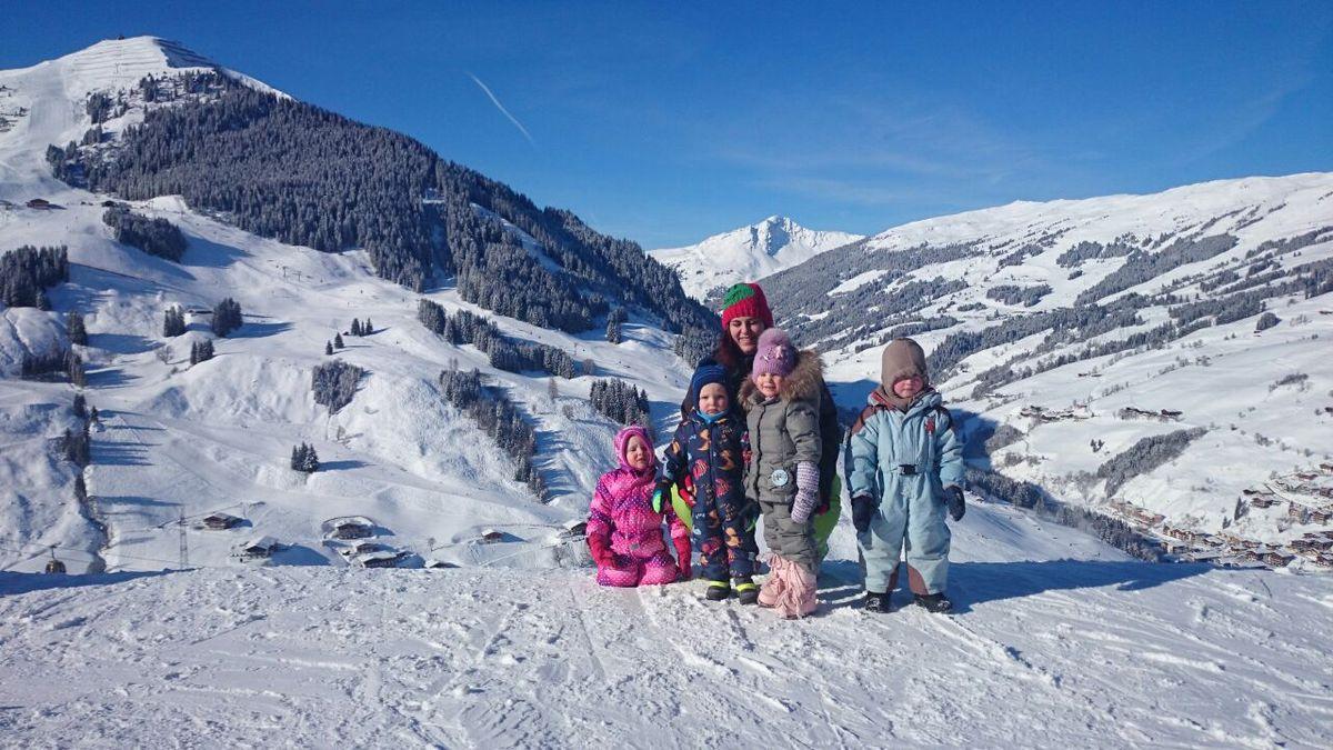 Happy Baby- und Kleinkind Skiwoche