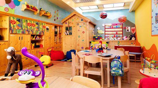 Der Happy-Club ist idealer Treffpunkt für Kinder und Jugendliche im Familotel Egger.