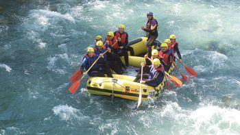 Fun Rafting am Lech