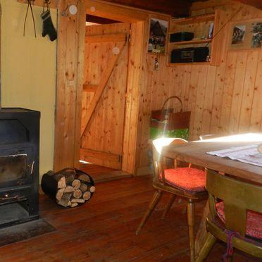 Ranahütte, Wohnstube und Schwedenofen