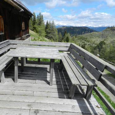 Ranahütte, Sonnenterrasse